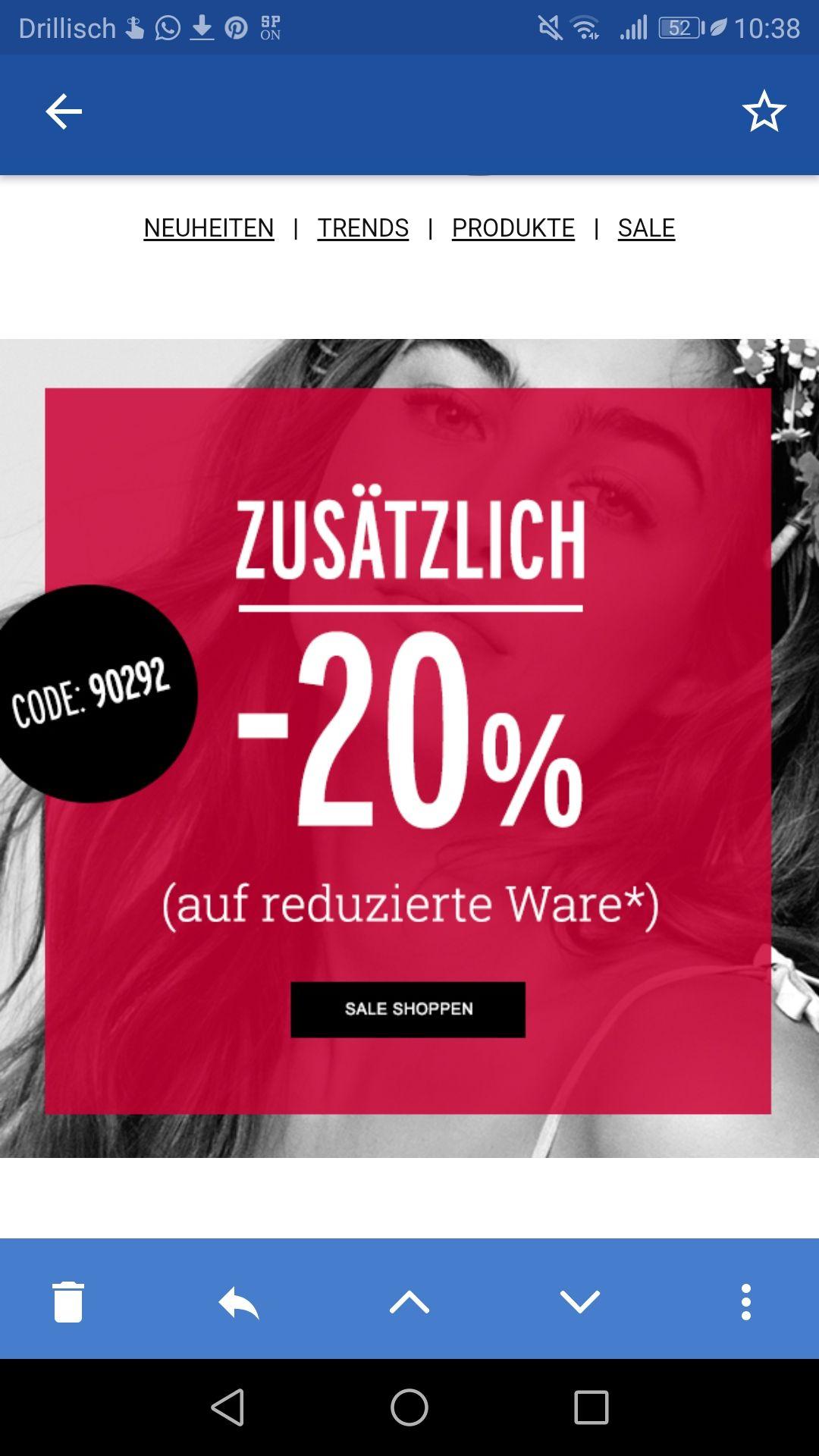 [Orsay] 20% on top auf bereits reduzierte Ware