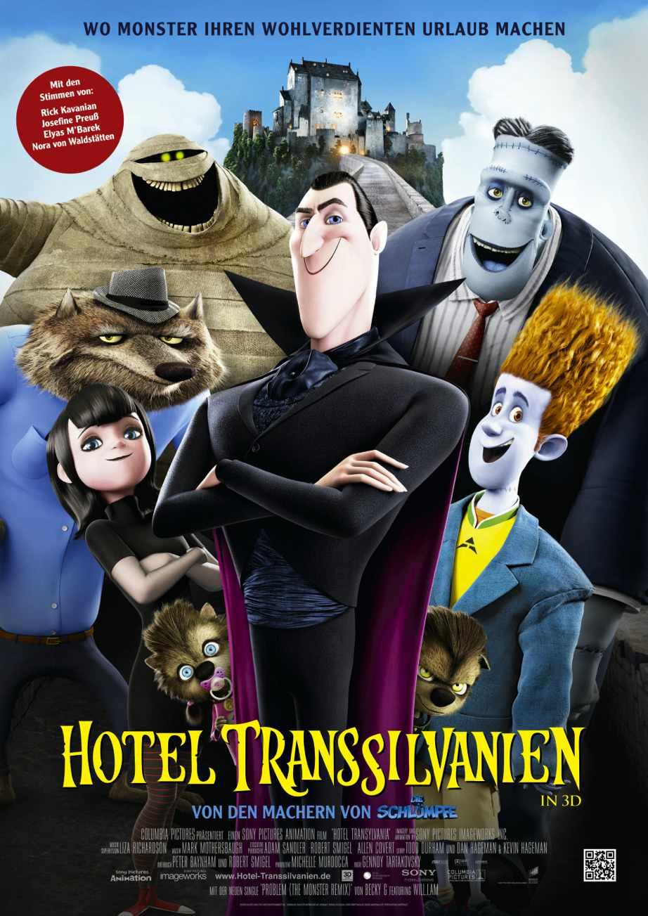 Google Play/YouTube: »Hotel Transsilvanien« für 0,99€ in HD leihen