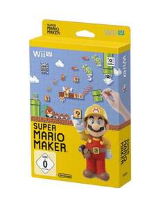 Super Mario Maker - Artbook Edition (Wii U) für 14,96€ (GameStop)