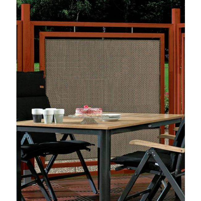 Eukalyptus/Geflecht Zaunelement (160x160cm) für 59,95€ + kostenloser Versand ab 499€