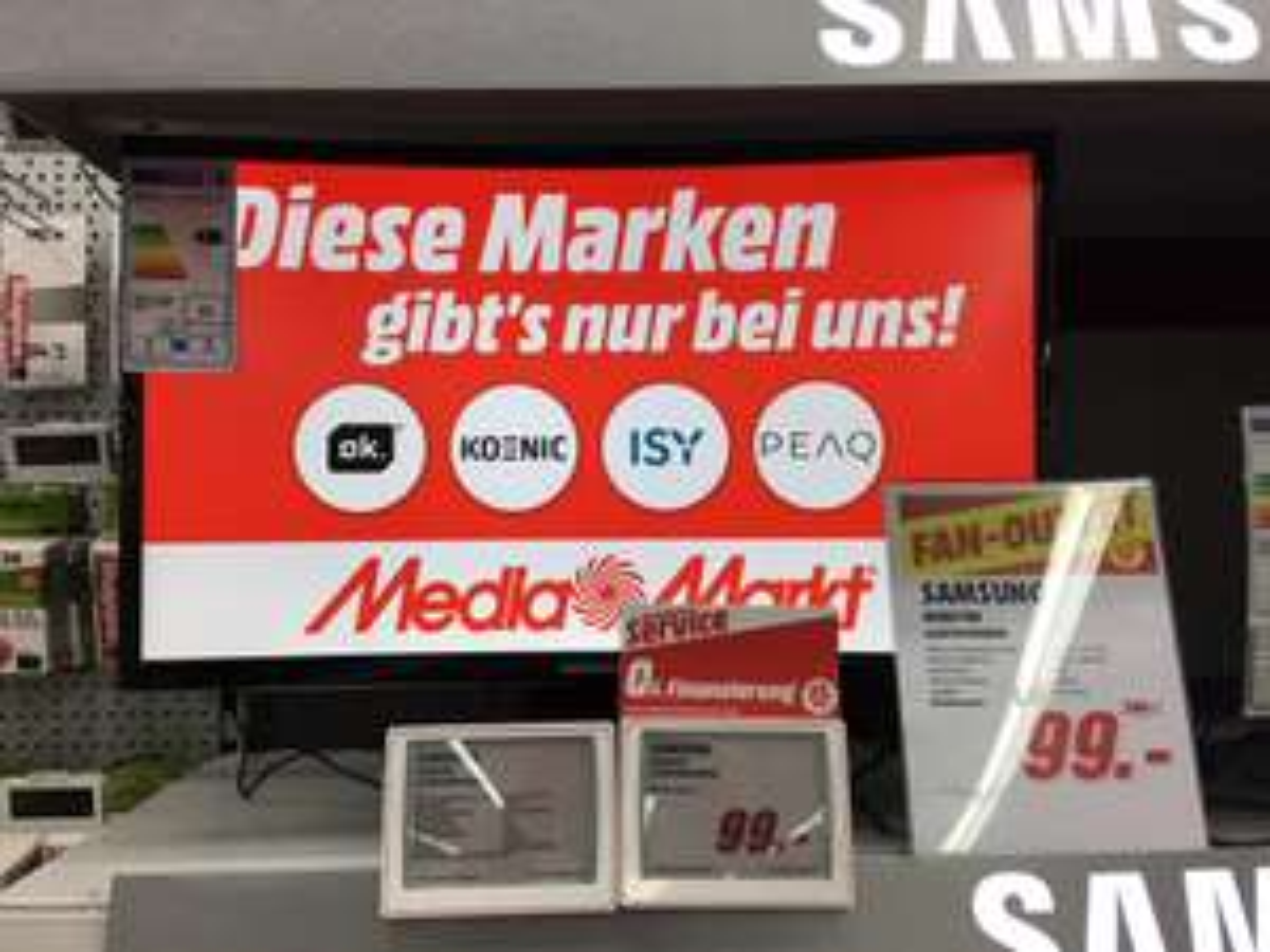 [LOKAL Media Markt Darmstadt-Weiterstadt] Samsung C24F390 24 Zoll Curved Monitor für 99,-