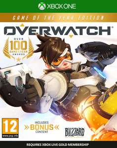 Overwatch - Game Of The Year Edition (Xbox One & PS4) für je 16,83€ (ShopTo)