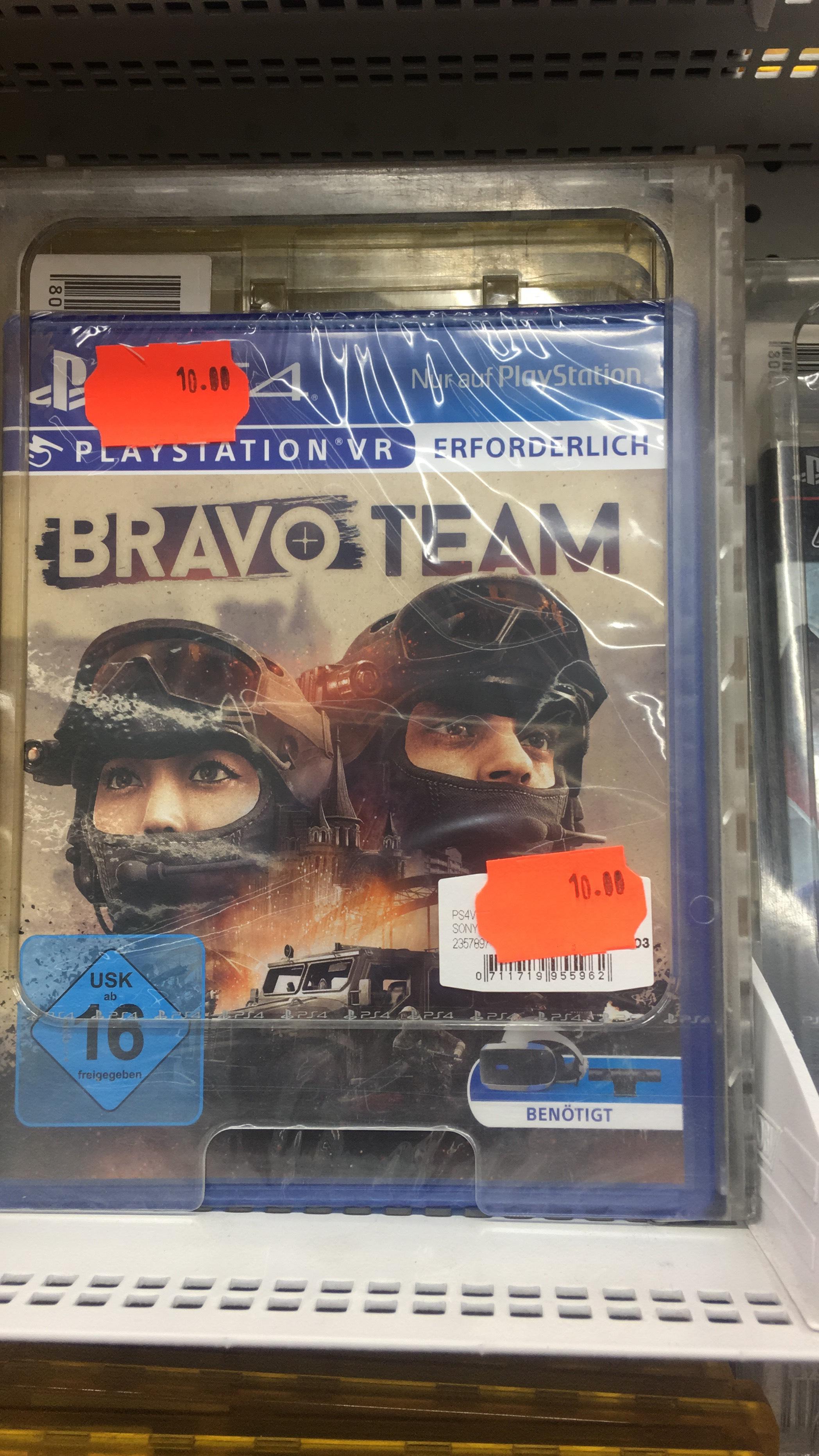 Bravo Team VR PS4 Saturn Hanau