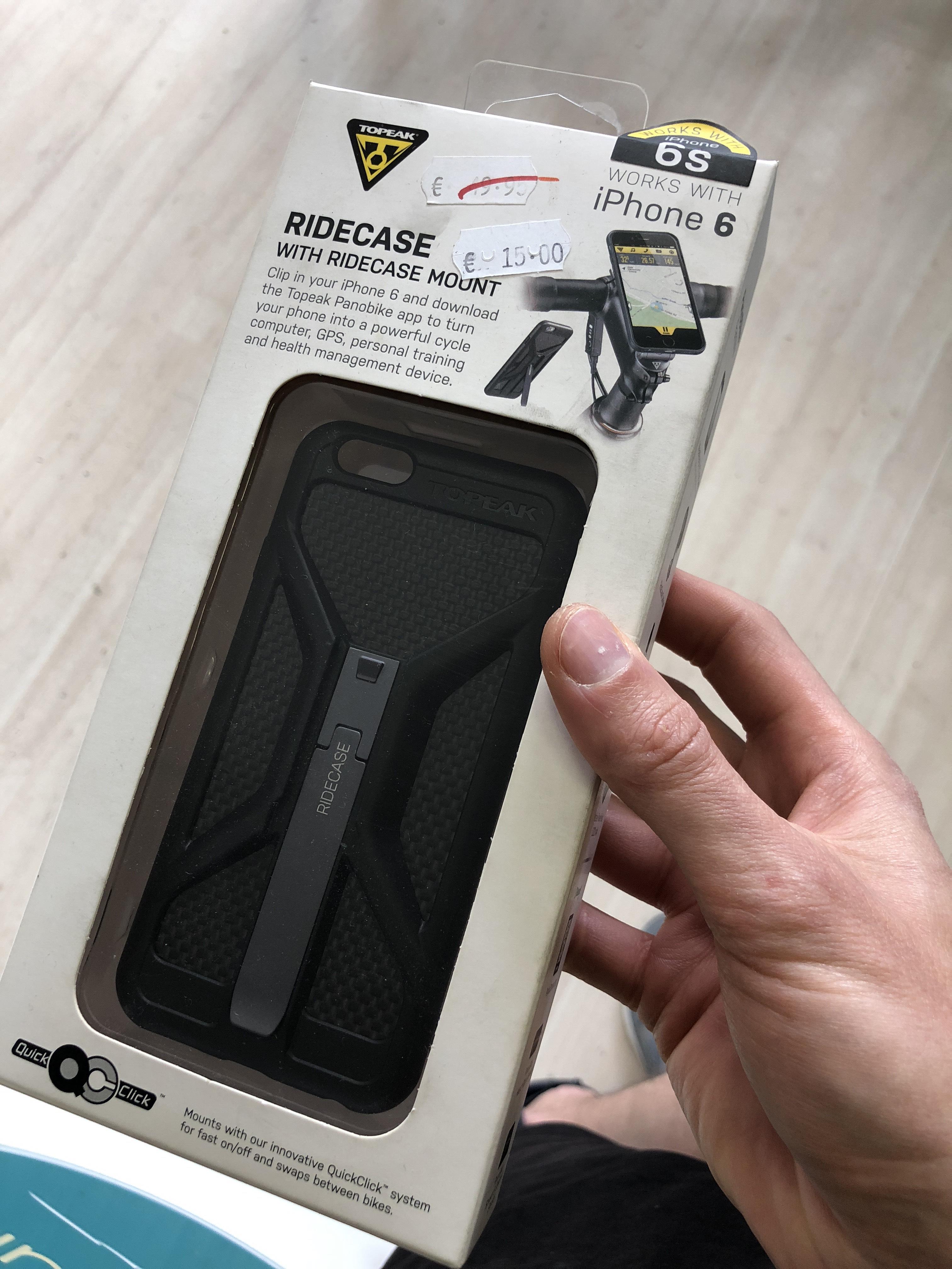 (Lokal Leipzig Radfreund)TOPEAK RideCase iPhone 6 Handy Fall Halterung