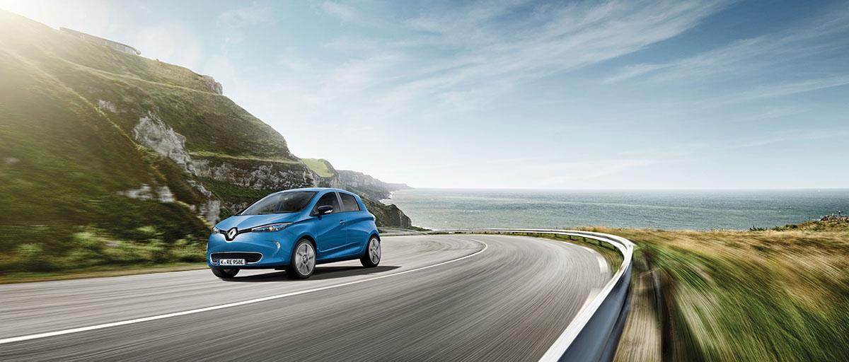 Das Elektroauto Renault Zoe schon ab 99 Euro pro Monat leasen (Privatleasing)