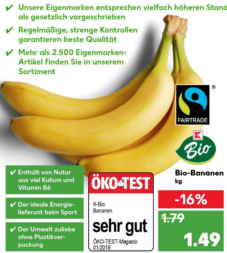 [Kaufland] Bio & Fairtrade Bananen - Ab 12.07.