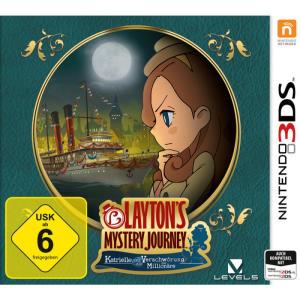 Layton's Mystery Journey: Katrielle und die Verschwörung der Millionäre (3DS) für 26€ versandkostenfrei (Media Markt