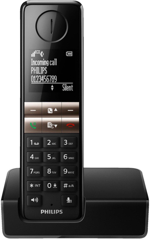 Philips D4601B/38 Schnurloses Telefon (Schwarz) für 23€ versandkostenfrei (Media Markt & Amazon Prime)