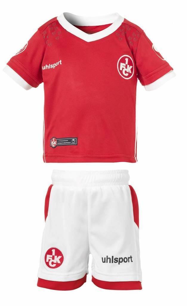 Diverse 1. FC Kaiserslautern Fanartikel z.B. Minikit für 9,95 EUR oder Heimtrikot 17/18 für 24,95 EUR + 3,90 Versand