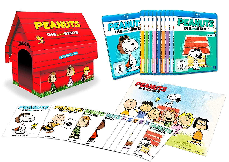 Peanuts - Die neue Serie Komplettbox Limited Edition Hundehütte (10 Disc Set Blu-ray) für 79,99€