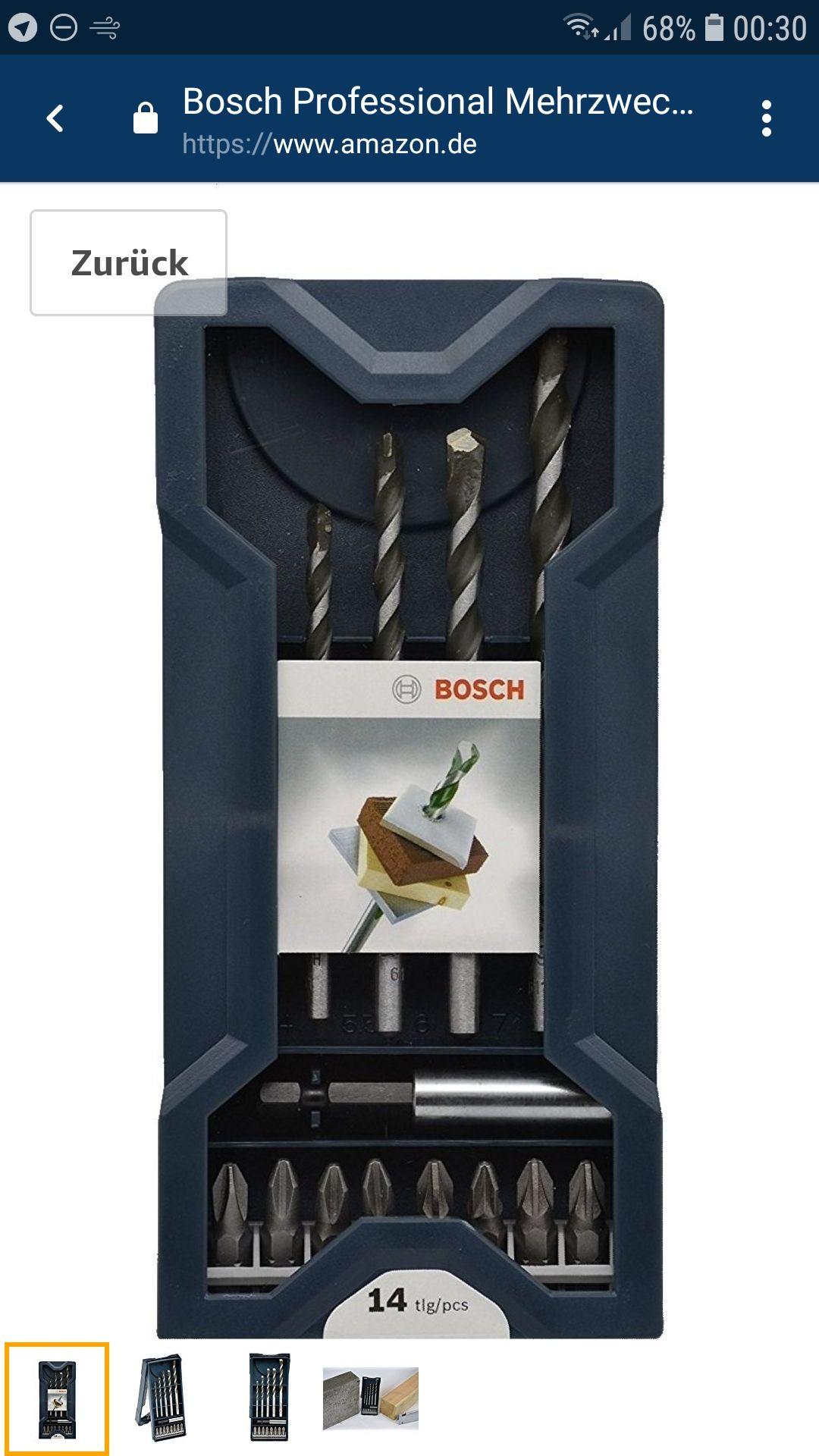 Bosch Professional Mehrzweckbohrer DIY 14tlg.