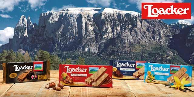 [Coupies] 12x0,30€ Cahback auf Loacker Waffeln
