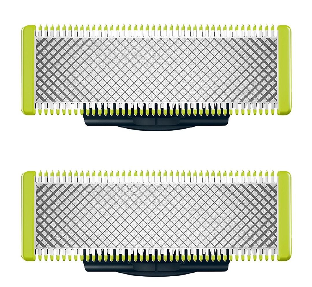 Doppelpack OneBlade Ersatzklingen QP220/55 passend für alle Philips One Blade Modelle