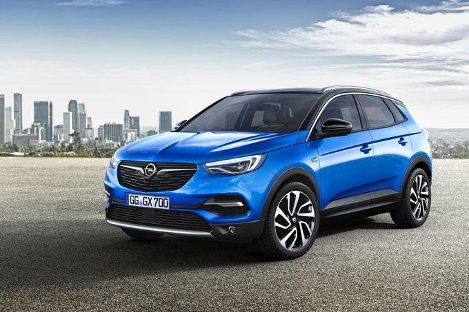 Kostenloses Navi-Kartenupdate für Opel Grandland X und Crossland X