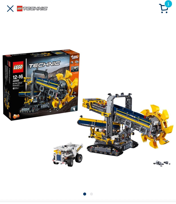 [MyToys] LEGO Technik 42055 Schaufelradbagger