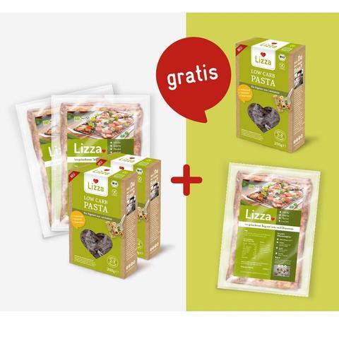 Nimm 3 Zahl 2 Online-Aktion auf LIZZA-Produkte (Höhle der Löwen)