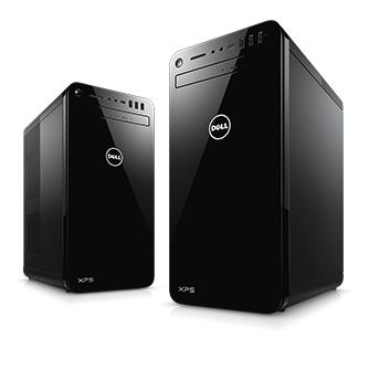 Dell PC Komplettsystem XPS 8930 - i5-8400, 8GB RAM, 1TB HDD (16GB Optane), GTX 1050Ti, Win 10 Home
