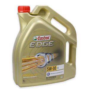 Castrol EDGE Titanium FST 5W-30 LL 5L Ebay WOW! Angebot