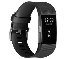 [Lokal-Duisburg] Fitbit Charge 2 L schwarz/silber