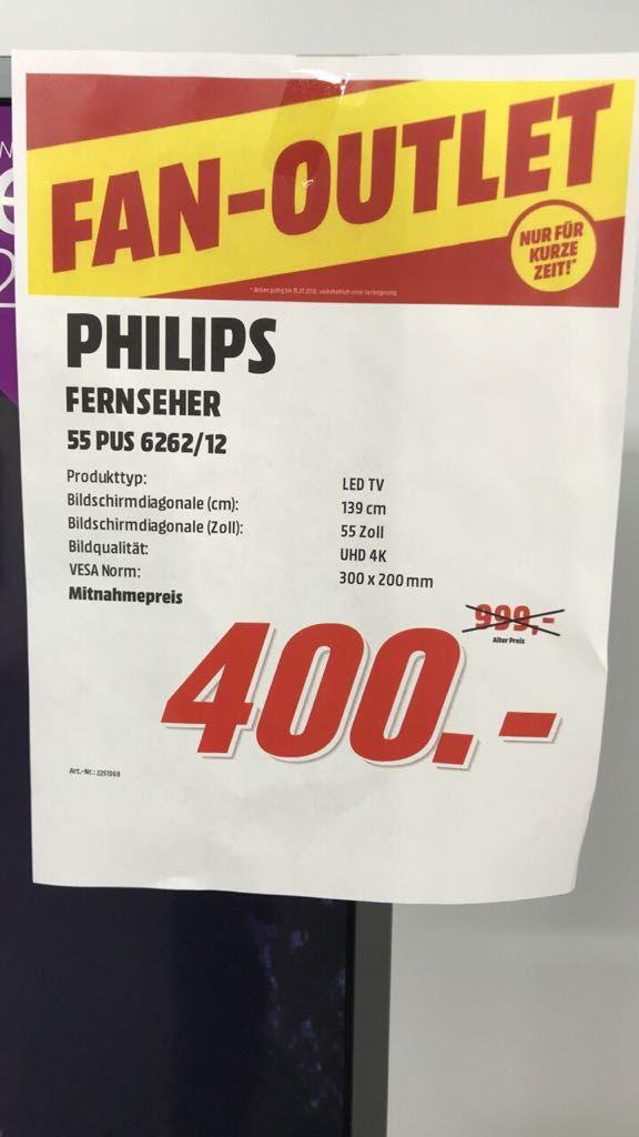 Philips 55PUS 6262 Ambilight im MM Mülheim/Ruhr