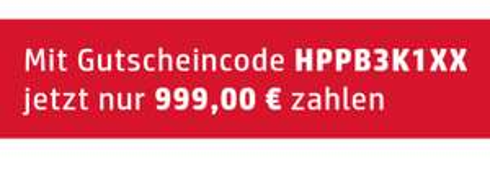 HP 100€ Rabatt auf ausgewählte Notebooks