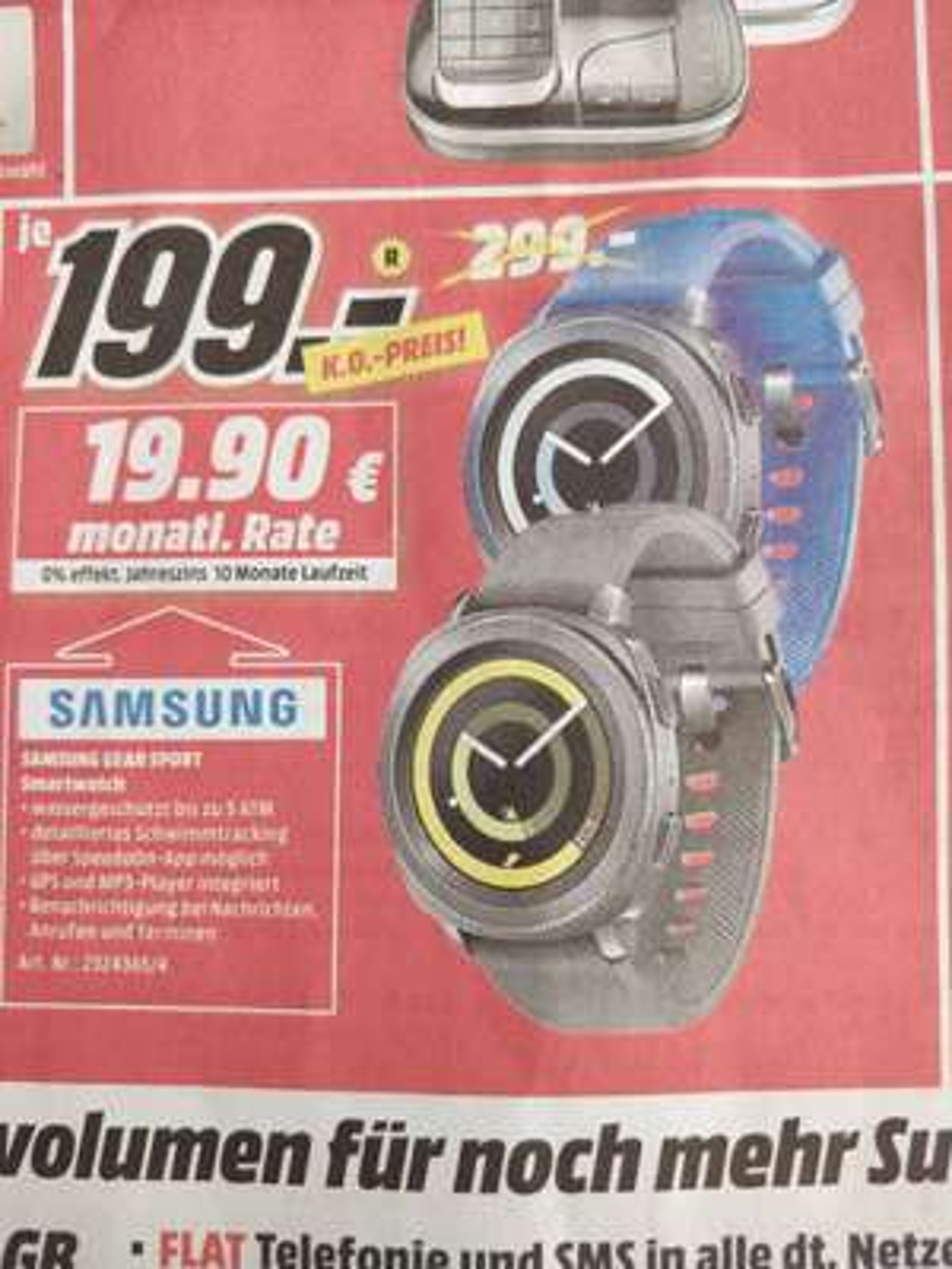 [MM Berlin/Brandenburg] Samsung Gear Sport