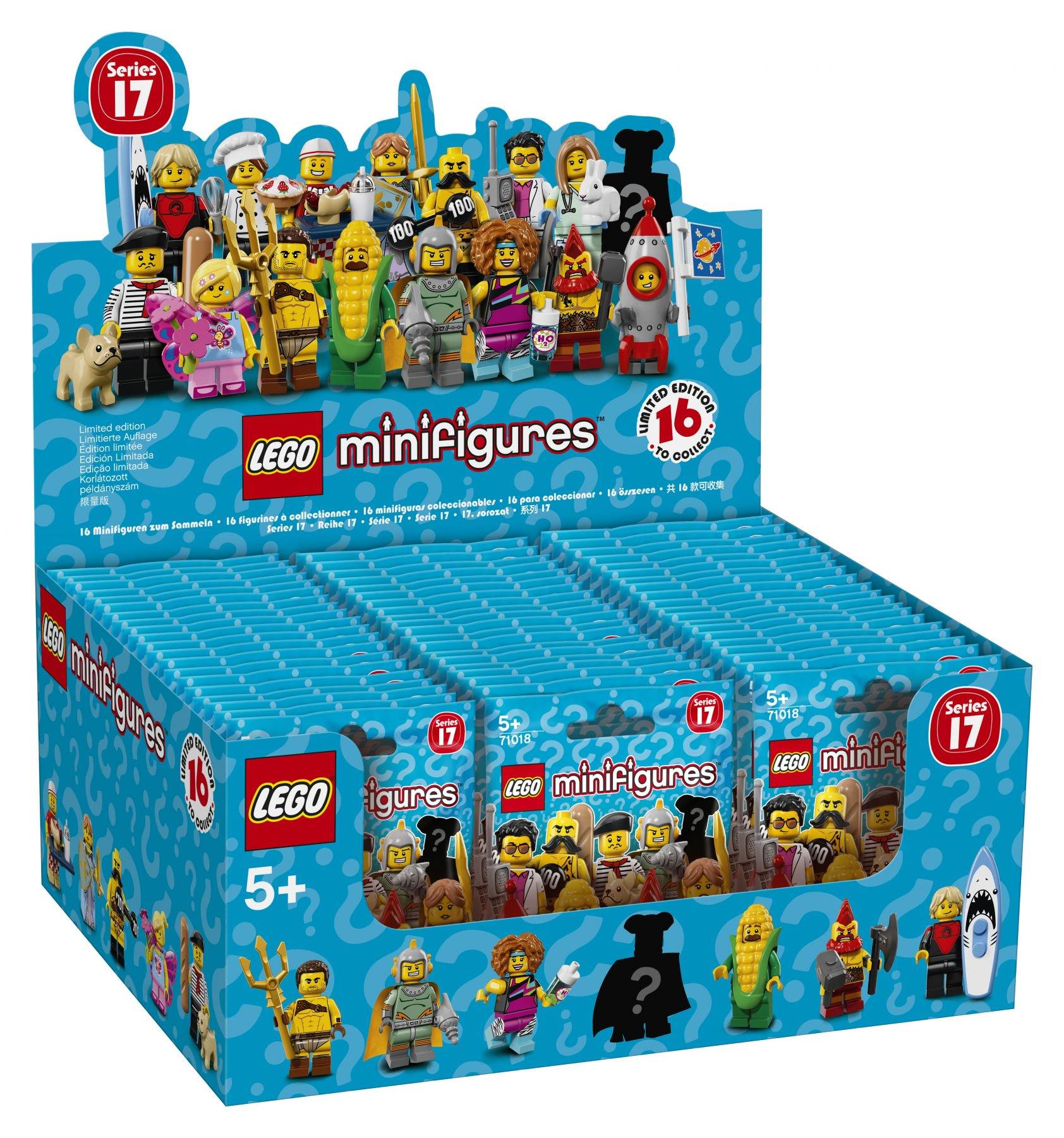 LEGO Minifiguren Serie 17 (71018) 60er Box = 2,666€ / Figur