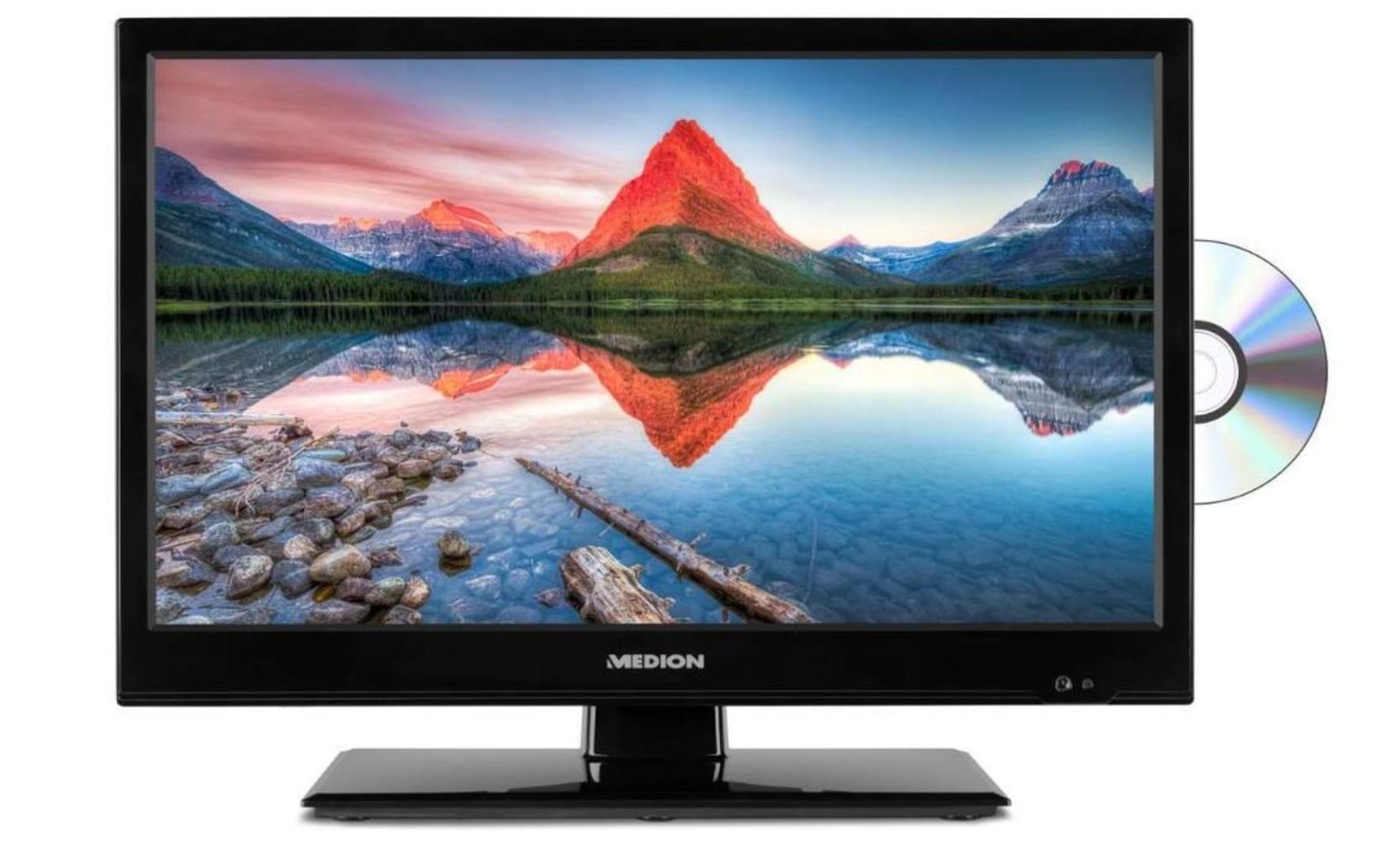 [Amazon] Medion P12309 Camping / Caravan TV 47 cm (18,5 Zoll HD) Fernseher (Triple Tuner, DVB-T2) 12V