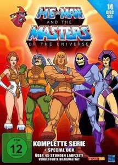 Sommerferien- & Urlaubsangebote bei Saturn, z.B. He-Man and the Masters of the Universe (Komplette Serie) für 37€ statt 50€