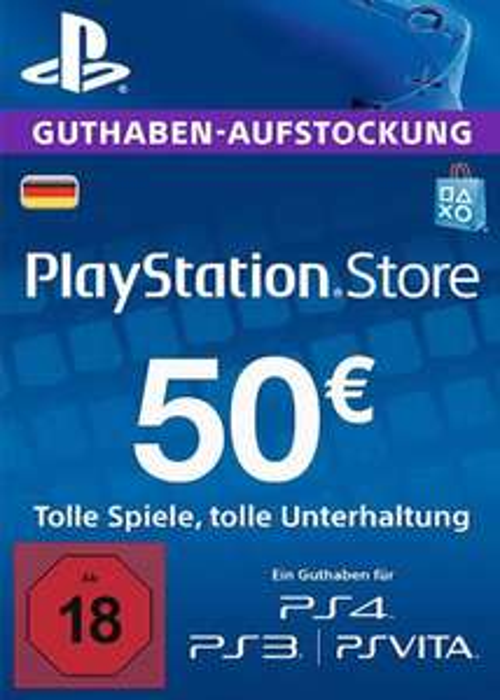 Play Station Netzwerk 50 EUR DE