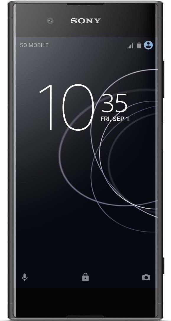 "[Aldi Nord] Sony Xperia XA1 Plus 5,5"" Full HD Smartphone (32GB, 4GB RAM, 23MP/8MP, NFC, 3.430mAh, Gorilla-Glas, Bluetooth 4.2, aptX, Fingerprint) in schwarz"
