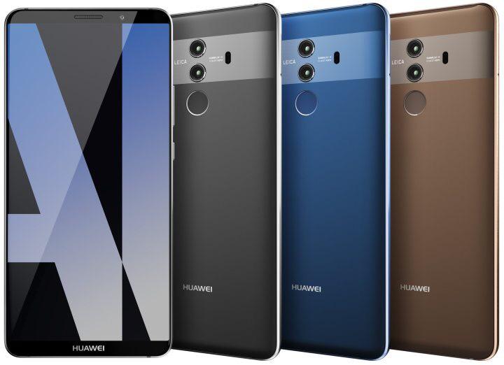 Huawei Mate 10 Pro in drei Farben (blau | grau | braun)