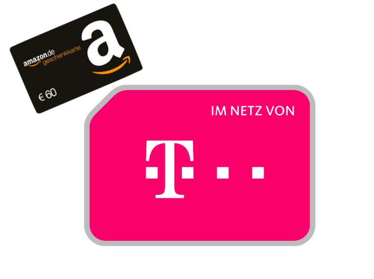 mobilcom-debitel Magenta Mobil M für eff. 22,45€ / Monat mit 4GB LTE (300 Mbit/s), Allnet- & SMS-Flat, StreamOn Music inkl. 60€ Amazon Gutschein