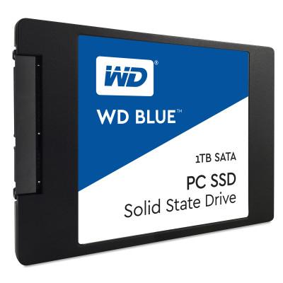 WD Blue 1 TB 2,5 Zoll SATA 6 Gbit/s interne SSD [evtl. 25 EUR Rabatt via Masterpass möglich]