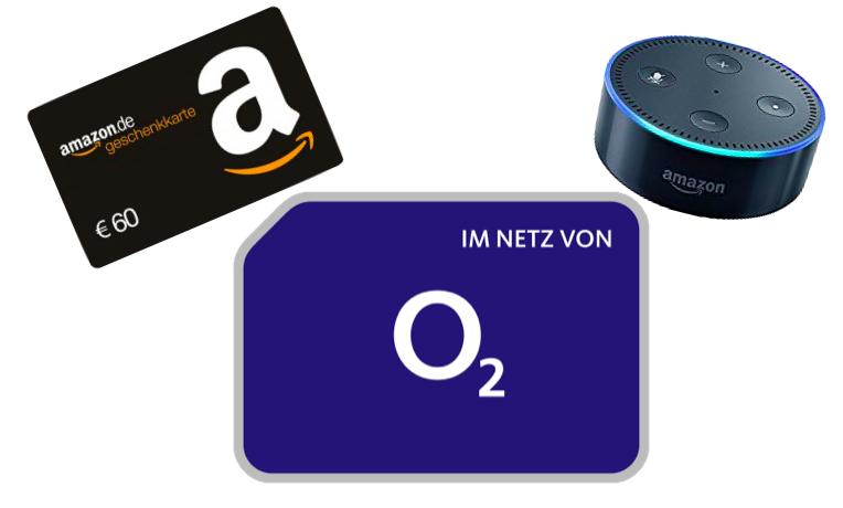 mobilcom-debitel o2 Free M (20GB LTE) für eff. 24,49€ / Monat inkl. gratis Amazon Echo Dot