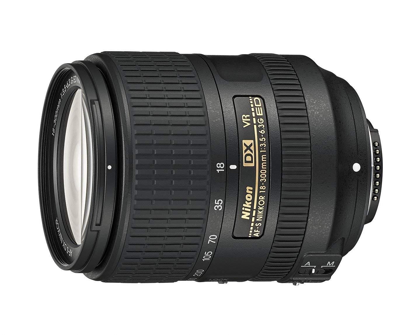 [Avides@Dealclub] Nikon Nikkor AF-S DX 18-300 mm 1:3,5-6,3G ED VR-Objektiv (inkl. LC-67 Frontdeckel und LF-4 Rückdeckel) schwarz - Vorführware -