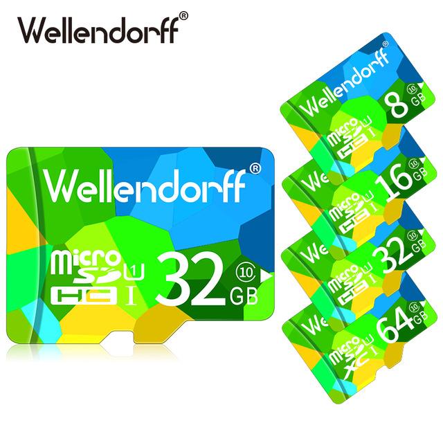 """32GB """"Wellendorff"""" micro-SD-Karte aus China (getestet, funktioniert)"""