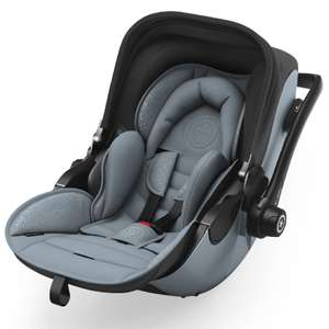 Kiddy Babyschale Evoluna i-Size 2 inklusive Isofix Base 2 Polar Grey (Testsieger 2018)