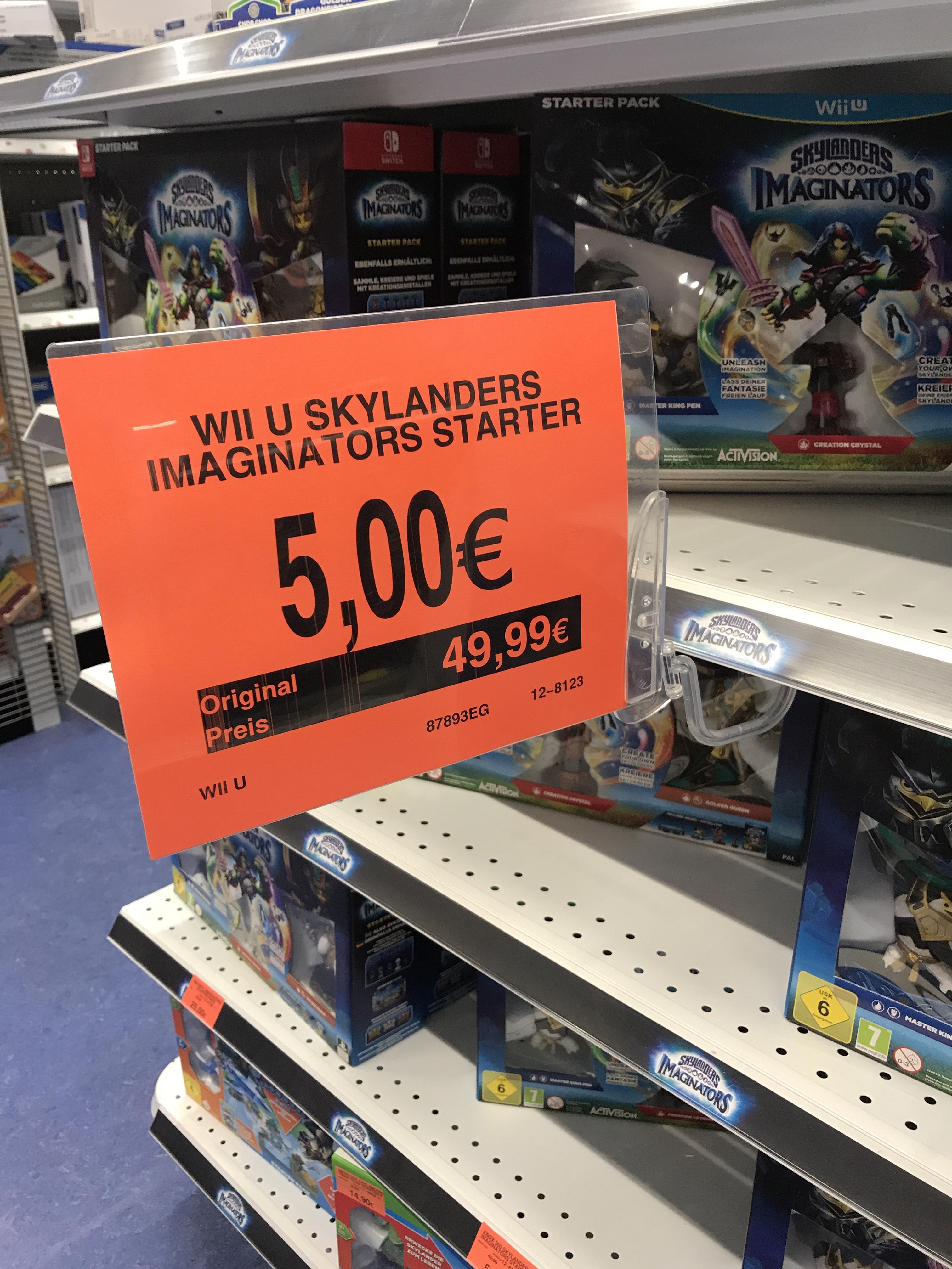 [local] ToysRus Rostock WII U Skylanders Imagninators Starter