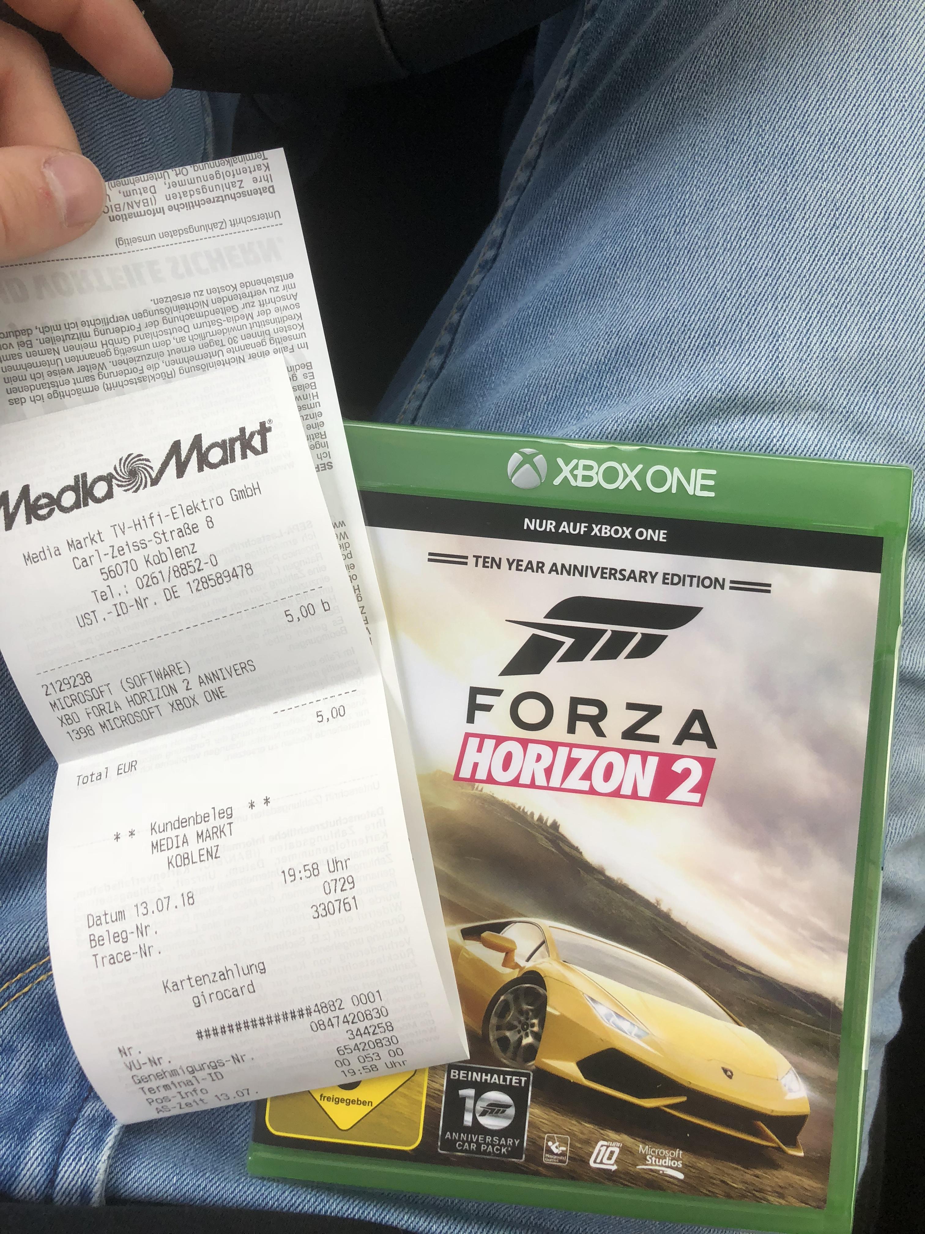 (Lokal) MediaMarkt Koblenz Forza Horizon 2