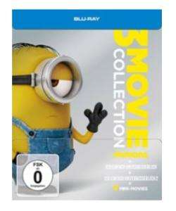 Minions - 3 Movie Collection / Limited Steelbook (Blu-ray) für 9,99€ (Müller)