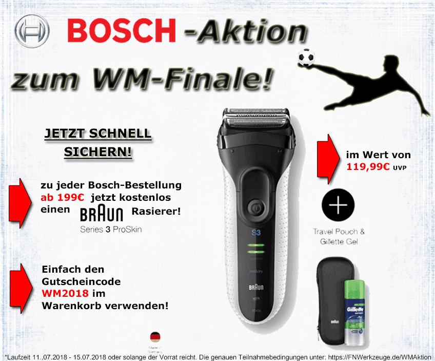 Kostenfreier Rasierer mit Gutschein, 199€ MBW