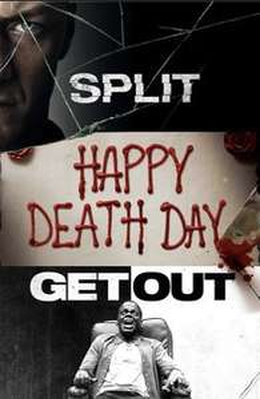 Get Out, Split & Happy Deathday Horror Bundle bei iTunes in 4K HDR für 14,99 € zum Kauf