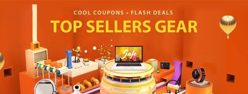 Gearbest 6% Cashback für Neukunden und 5% für Bestandskunden + Top Sellers Gear! [Shoop]
