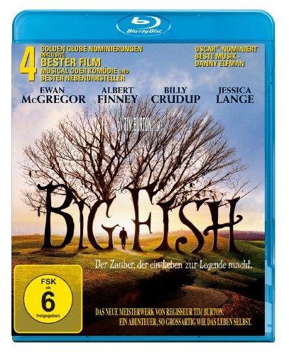 Big Fish Der Zauber, der ein Leben zur Legende macht (Blu-ray) für 4,97€ (Amazon Prime Blitzangebot)