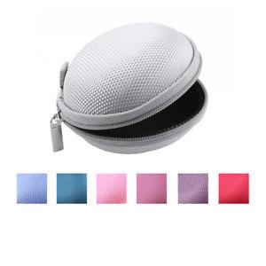 Kopfhörertasche Hardschalen Schutz Box für In-Ear Kopfhörer Headphones Etui