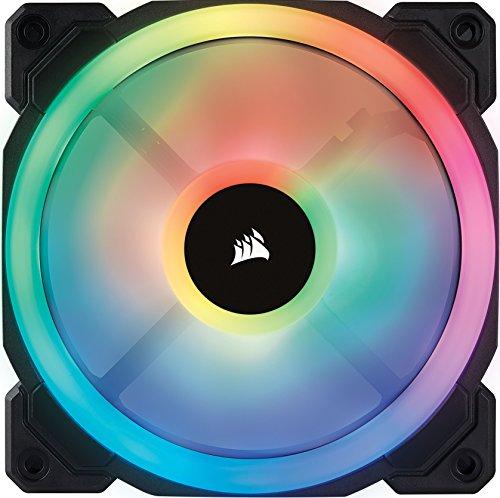 Corsair LL120 RGB PWM PC-Gehäuselüfter 3er Pack mit Steuerung