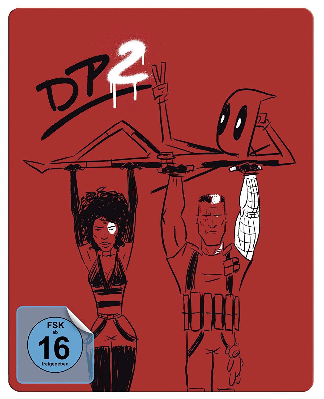 Deadpool 2 Steelbook Limited Edition (Blu-ray + Bonus-Disc) für 23,48€ (Bücher.de)