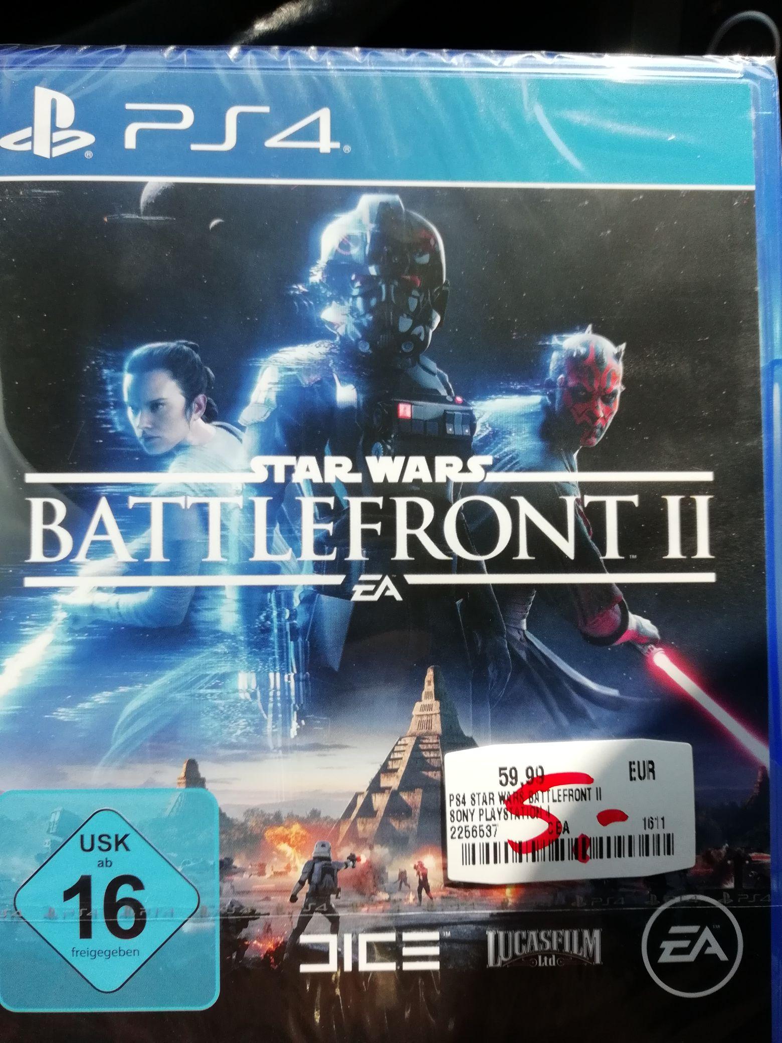 ( Lokal MM Bielefeld) Star Wars Battelfront 2 PS4 für 5€