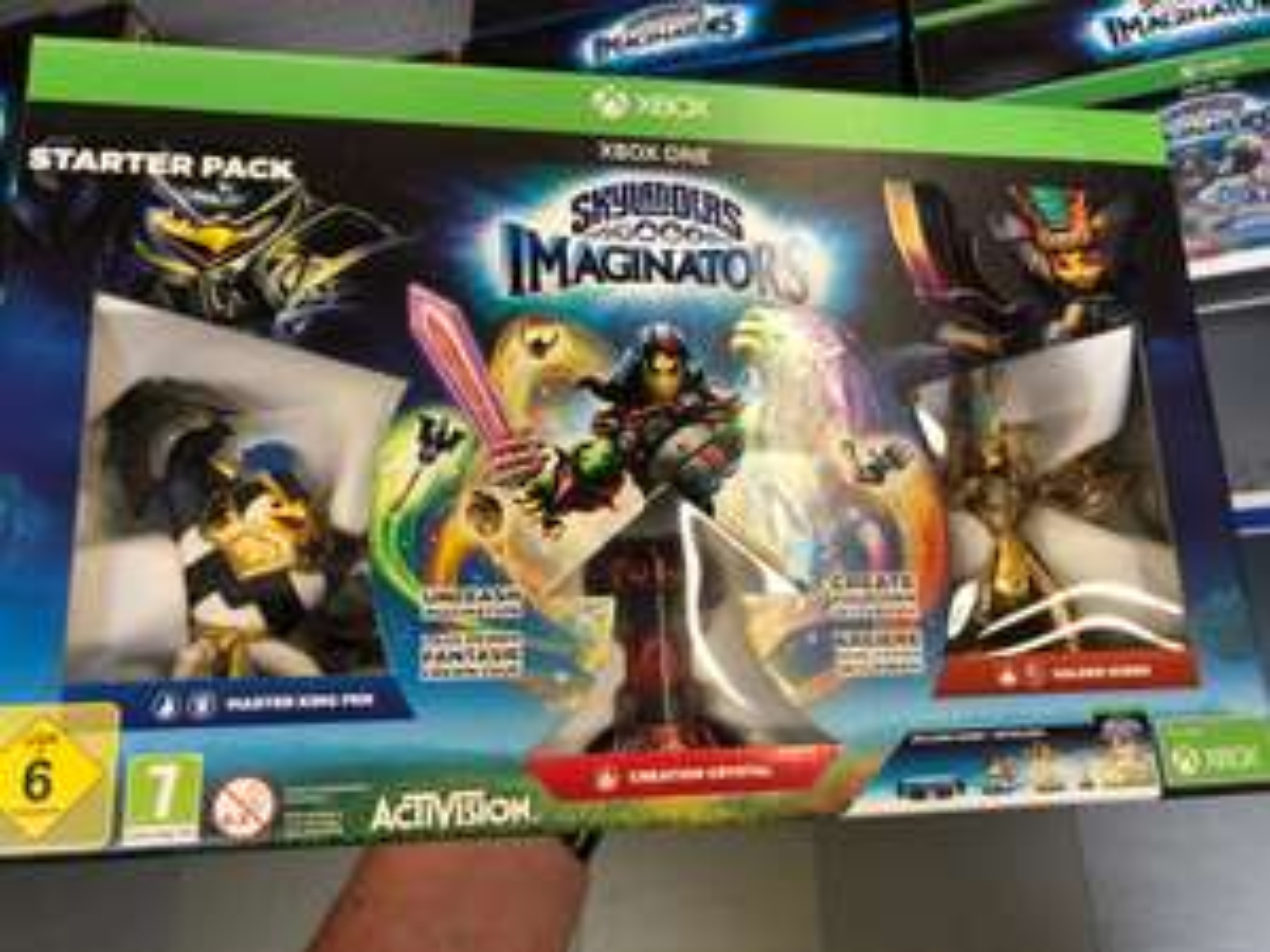 Skylanders Imaginators Starter Pack - XBOX One & WiiU für jeweils 5€ / Toys R Us Neuss - / Lokal